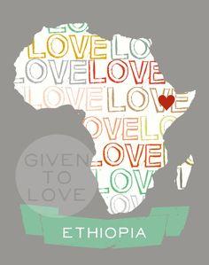 Ethiopia heart